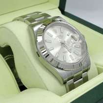 Rolex Datejust II 116334 41mm Automatic Oyster Ss 18k White...