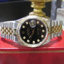 Rolex Oyster Perpetual Datejust Diamond Jubilee Dial Yellow...
