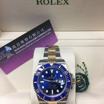 Rolex 116613LB Two-Tone Submariner Date  Blue Dial
