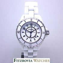 Chanel J12 White 33mm Midsize H0968