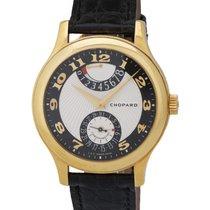 Chopard 18K Y/G L.U.C Quattro Mark Power Reserve Men's Watch...