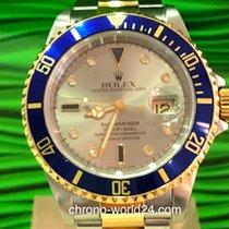 Rolex Submariner Date Ref. 16613 Sultan Serti Dial Box/Papers TOP