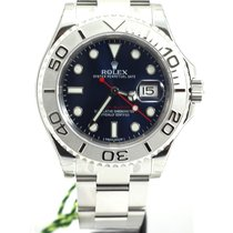 Rolex YachtMaster Blue Dial platinum 116622