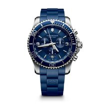 Victorinox Swiss Army Maverick Chronograph, date, blue dial,...