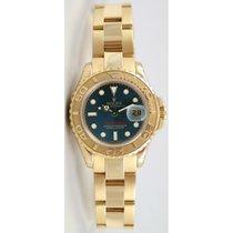 "Rolex Yachtmaster 169628 Ladies 18K Yellow Gold ""Inner..."