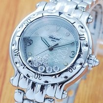 Chopard Happy Sport Fish Diamonds Pearl Dial Women's Watch