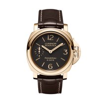 Panerai Luminor Marina 8 Days Oro Rosso  Mens Watch PAM00511