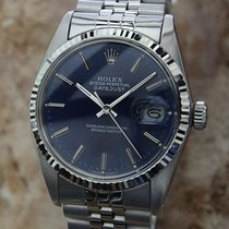 Rolex 16014 18k Gold Stainless St Serial 6708444 1980 Swiss...