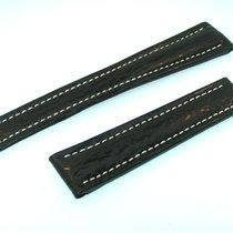 Breitling Band 19mm Hai Schwarz Black Shark Strap Correa Für...