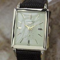 Longines Swiss Made Mens  14k Gold Filled Manual Luxury 1940s...