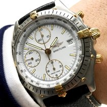 Breitling Serviced Breitling Chronomat with white dial