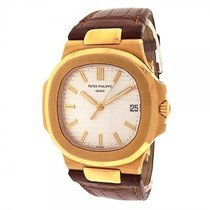 百達翡麗 (Patek Philippe) Nautilus 5711J 18k Yellow Gold Brown...