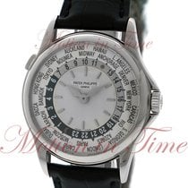 "Patek Philippe World Time ""Discontinued Model"", Silver..."