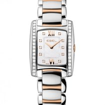 Ebel Brasilia Rose Gold and Steel Case With Diamonds