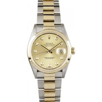 Rolex Datejust 6827 Midsize Steel & 18K Yellow Gold Oyster...