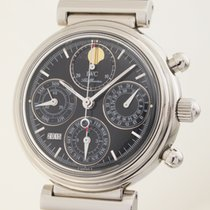 IWC Da Vinci Ewiger Kalender Stahl Chronograph
