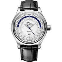 Ball Trainmaster Worldtimer Automatik Herrenuhr GM2020D-LL1FCJ-SL