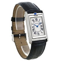 까르띠에 (Cartier) Tank Basculante Steel Large Mechanical Watch...