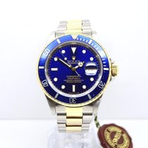 Rolex Submariner Blue Kit 16613 with Box & Papers