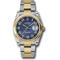 ロレックス (Rolex) Rolex Datejust 36mm - Steel and Gold Datejust...