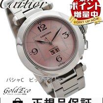 Cartier 【超美品】Cartier【カルティエ】  パシャC ビッグデイト ボーイズ腕時計【中古】 W31058M7...