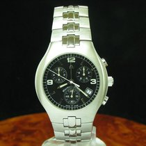 Maurice Lacroix Siras Edelstahl Chronograph Herrenuhr / Ref 04853