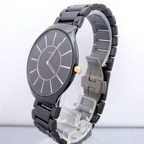 Rado True Thinline Quartz Full Dark Ceramic PVD Steel 39mm