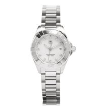 TAG Heuer Aquaracer Lady Steel Diamond Ladies Watch WAY1413.BA...