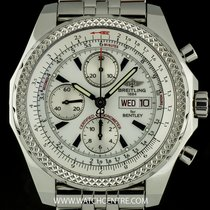 Breitling S/Steel White Dial Special Edition Bentley Motors GT...