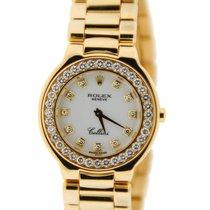 Rolex Cellini Diamond 18K Yellow Gold