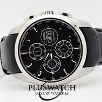 Tissot Couturier Automatic Chronograph Valjoux Black Dial 43mm T