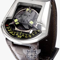 Urwerk 202  White Gold