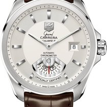 TAG Heuer Grand Carrera Calibre 6 RS Automatic 40,2MM Silver...