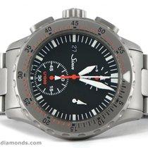 Sinn U1000 EZM 6 Divers Chronograph Tegimented Steel 44mm Watch