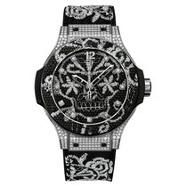 Hublot Big Bang Broderie 41mm Automatic Stainless Steel Set