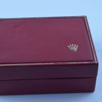 Rolex Holz Box Rar Uhrenbox Watch Box Case Rot 2 Rar