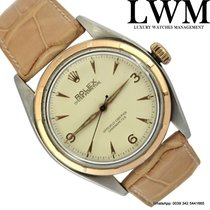 Rolex Oyster Perpetual 6085 steel and rose gold very rare 1953's
