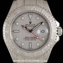 Rolex S/Steel Platinum Dial Farr 40 Yacht-Master Gents 16622