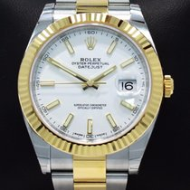 Rolex Datejust II 41mm 126333 Oyster 18k Yellow Gold/ss Watch...