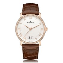 Blancpain Villeret Automatic Rose Gold Mens Watch 6669-3642-55B