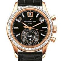 Patek Philippe 5961R-010 Annual Calendar Chronograph Black Dial