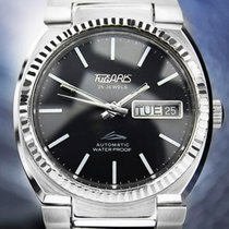 Tugaris 25 Jewels Automatic day date Black Dial Stainless...