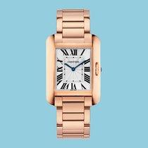 Cartier TANK ANGLAISE 34 Rotgold -NEU- incl. VAT Export possible