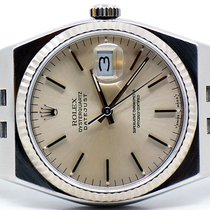 Rolex OYSTER QUARTZ 36mm DATEJUST STAINLESS STEEL Ref. 17014