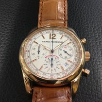Girard Perregaux Chronograph Retour en Vol/Fly back in pink gold