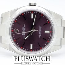 Rolex OYSTER PERPETUAL 39 mm Red Grape 114300