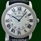Cartier Ronde Solo 36mm Date Silver Dial Box&Papers