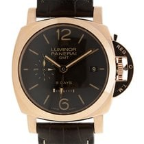 パネライ (Panerai) Luminor 1950 8 Days GMT Oro Rosso PAM 576