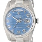 Rolex Day Date 18039 In White Gold, 36mm