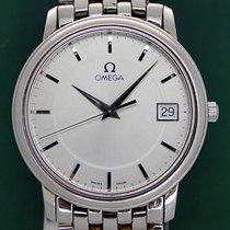 Omega De Ville Prestige 35mm Date Silver Dial Stainless Steel